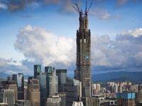Dünyanın en yüksek ikinci binasına gizlice tırmandılar