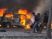 ŞAM'DAKİ BOMBALI SALDIRIDA 15 KİŞİ ÖLDÜ!