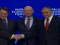 LİDERLER DAVOS'TA ÇÖZÜME DESTEK ÇAĞRISI YAPTI