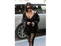 Kim Kardashian yine sınır tanımadı!