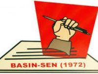BASIN-SEN GÖREVDEKİ BRT MUHABİRİNE SÖZLÜ SALDIRIYI KINADI