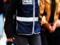 POLİSİ GÖRÜNCE KAÇTILAR AMA...