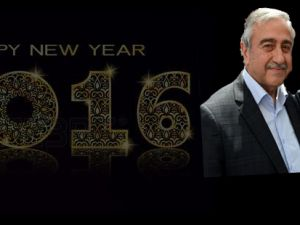 Akıncı ile Anastasiadis, Kıbrıslıların yeni yılını kutladı