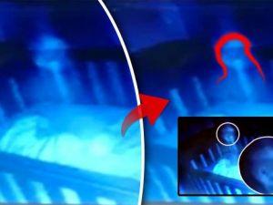Bir anne bebek kamerasıyla evindeki hayaletleri görüntülediğini iddia etti