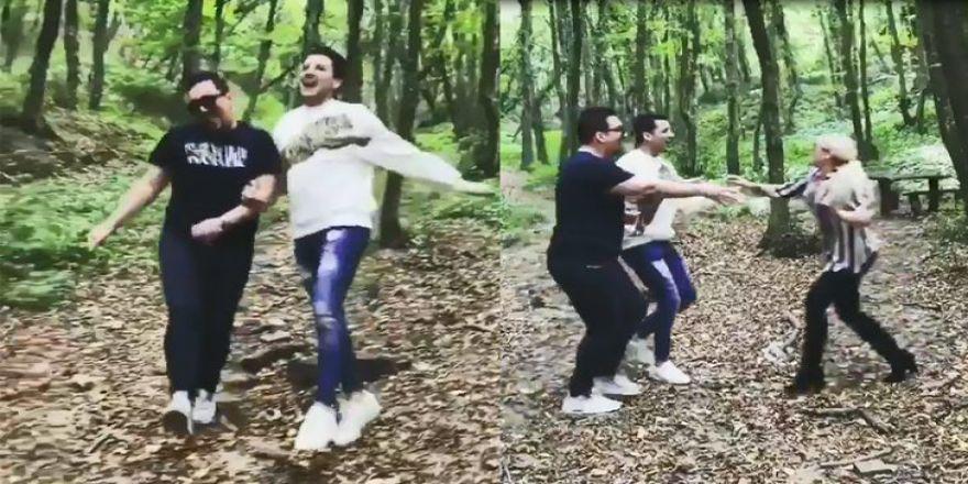 Kerimcan Durmaz ile Caner Çalışır'ın ormanda çektiği video viral oldu