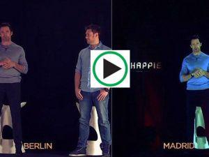 """Berlin'den Madrid'e """"ışınlandı"""""""